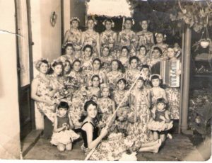 Corsos de antaño en Cañuelas 1956