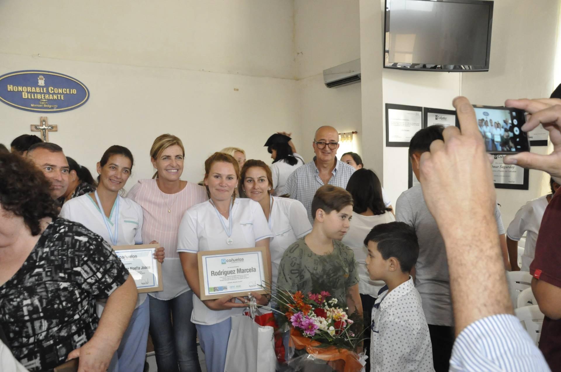 Tercera promoción de la Escuela Municipal de Enfermería