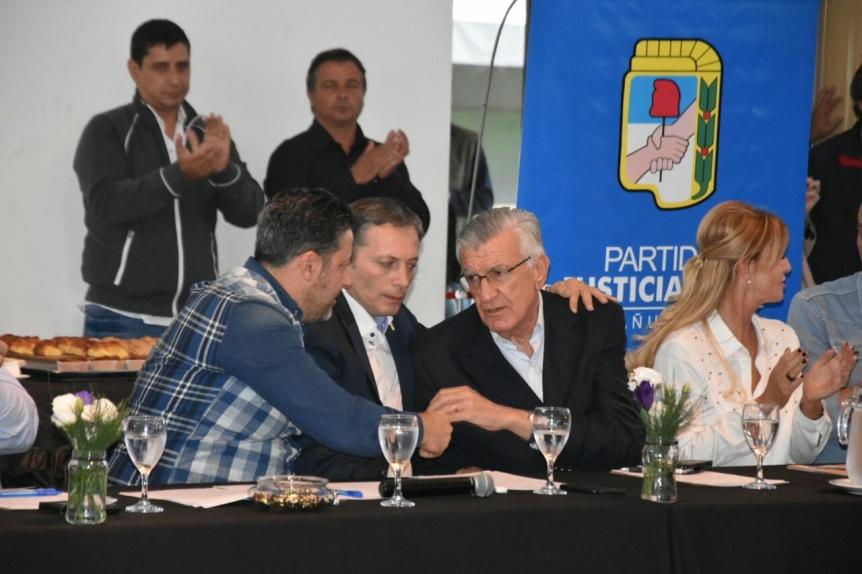 En Cañuelas, el PJ se mostró firme contra la intervención de Barrionuevo