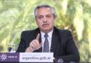 """Alberto Fernández: """"Queremos una sociedad con más respeto por la diversidad, más cuidado por la mujer y más igualdad para todos"""""""