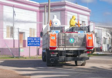 Hospital Dardo Rocha Operativo y relevamiento sanitario